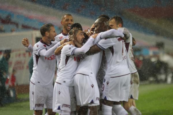 Trabzonspor: 1 - Büyükşehir Belediye Erzurumspor: 0 (Maç sonucu)