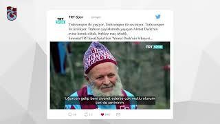 Uğurcan Çakır fanatik Trabzonspor'lu Ahmet dedeyi ziyaret etti